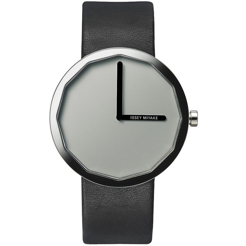 Issey Miyake Twelve Grey Men's Watch | Leather SILAP019