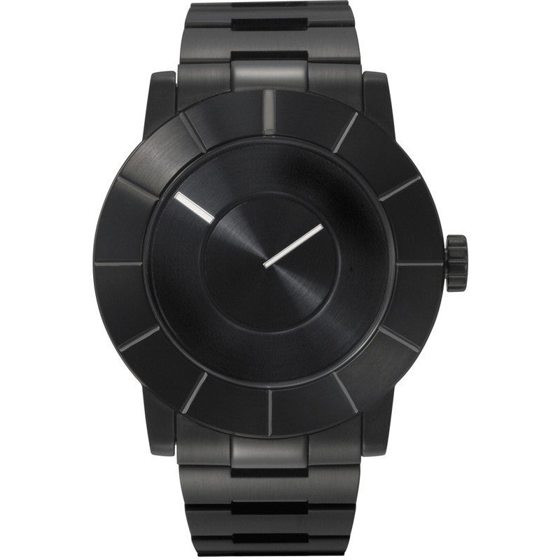 Issey Miyake TO Automatic Men's Black Watch | Steel SILAS004