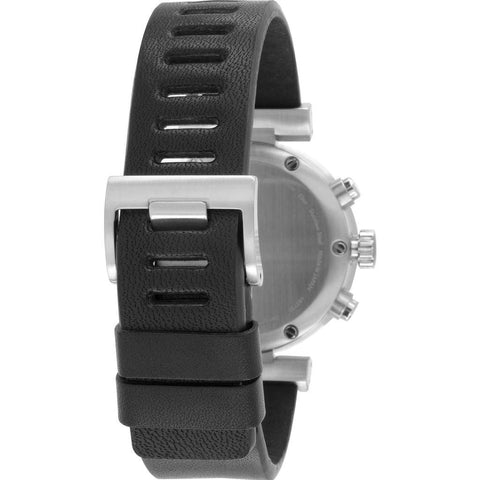 Issey Miyake W Black Chronograph Watch | Black Leather Silay009 Pm/3Ibk5/Bkdt