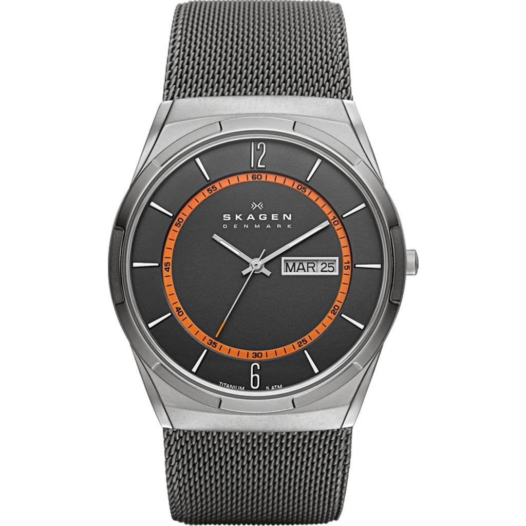 Skagen Melbye Grey Multifunction Watch | Steel Mesh SKW6007