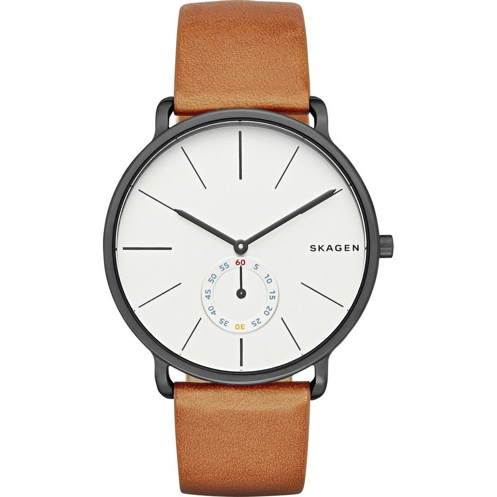 Skagen Hagen White Watch | Leather SKW6216