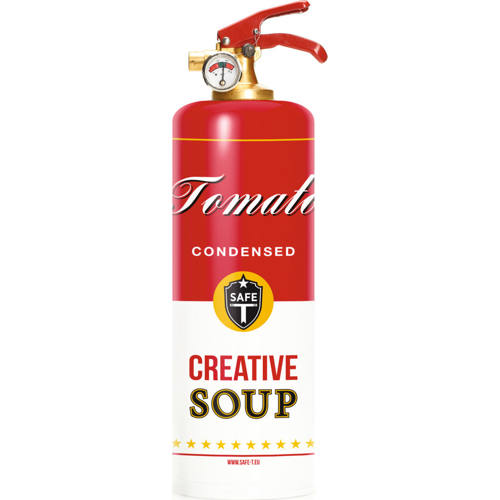 Safe-T Designer Fire Extinguisher | Foods -Soup SL1525