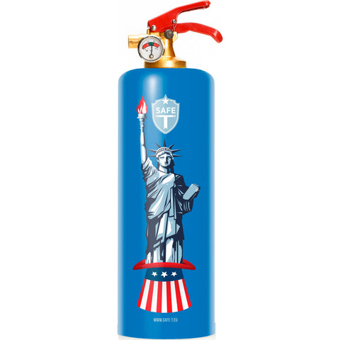 Safe-T Designer Fire Extinguisher | Patriotic -USA SL1710