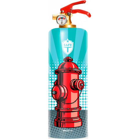 Safe-T Designer Fire Extinguisher | Pop Art -Fullcolors SL1514