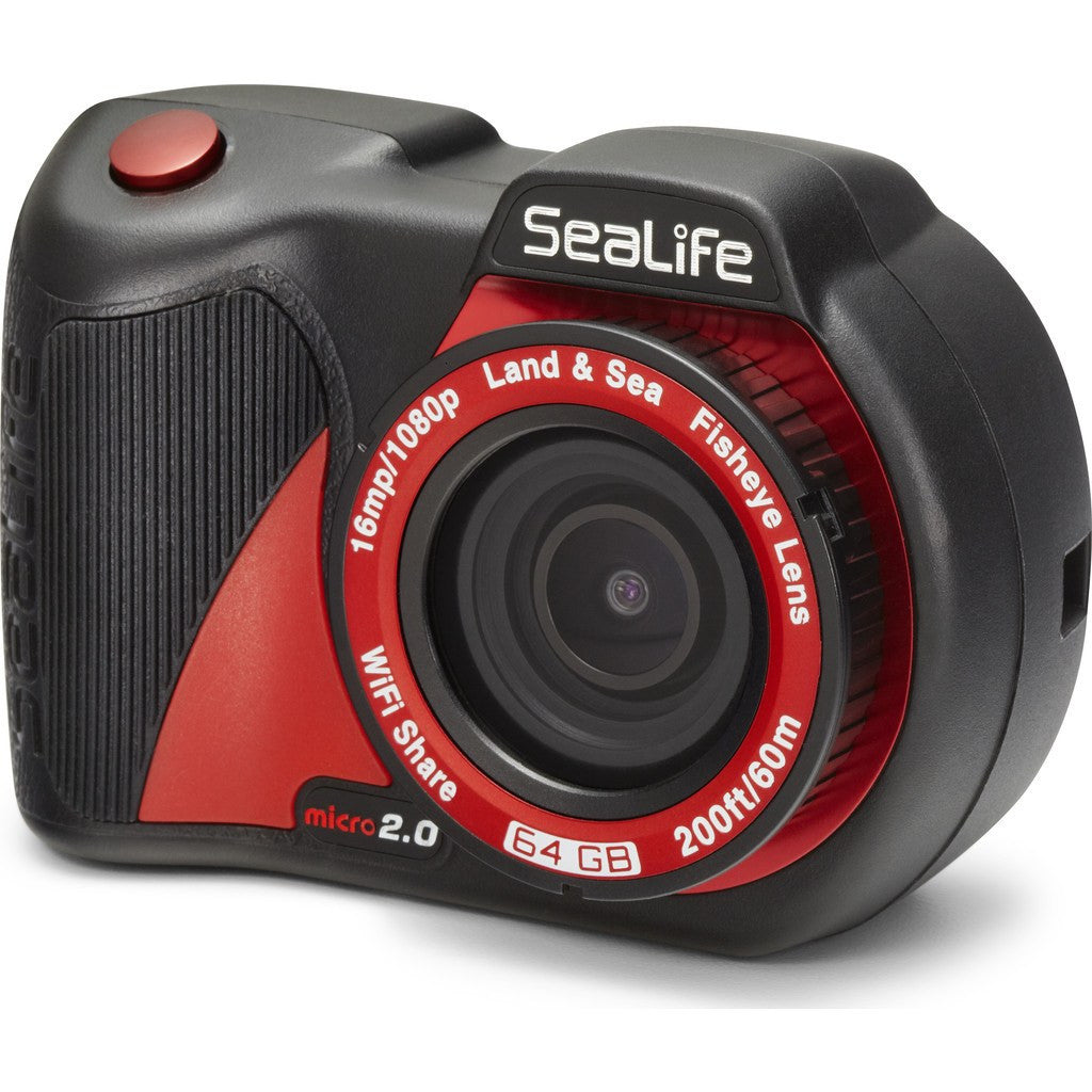 SeaLife Micro 2.0 WiFi 64GB Underwater Camera | Black SL512