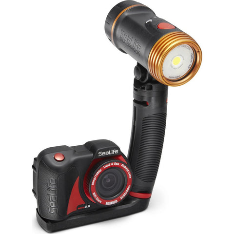 SeaLife Micro 2.0 Pro 1500 Underwater Camera Set | Black SL514