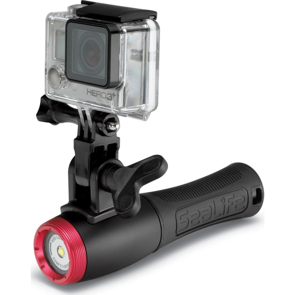 SeaLife Sea Dragon Mini 650F LED Flood Underwater Light | Black SL650