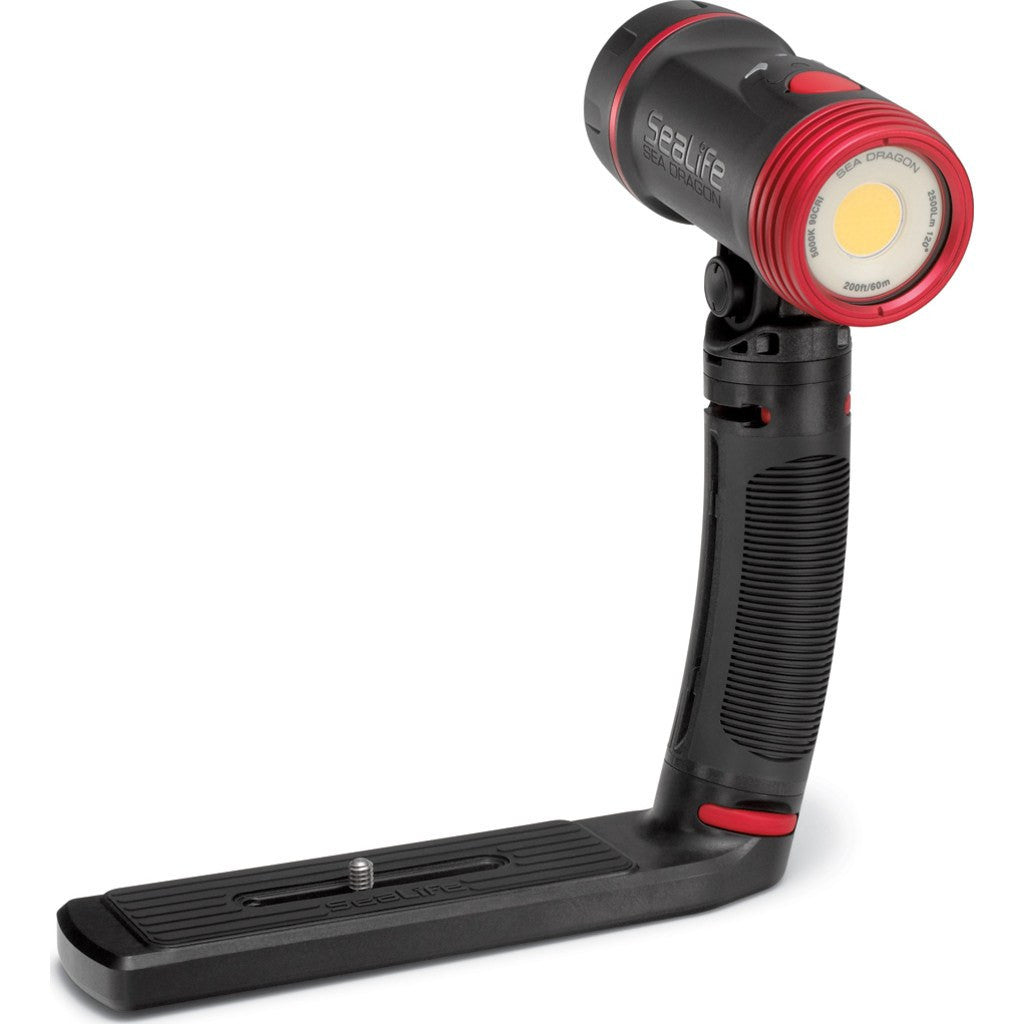 SeaLife Sea Dragon 2500F COB LED Underwater Photo/Video/Dive Light Kit | Black SL671
