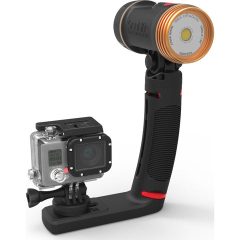 SeaLife Sea Dragon 1500F Underwater Photo/Video/Dive Light Kit | Black SL672