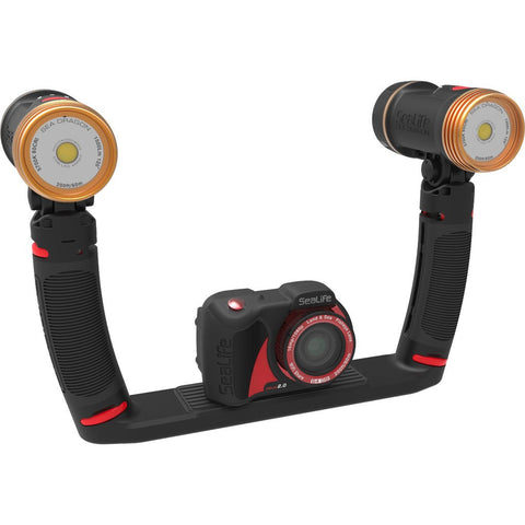 SeaLife Sea Dragon Duo 3000F Underwater Light Set | Black SL969