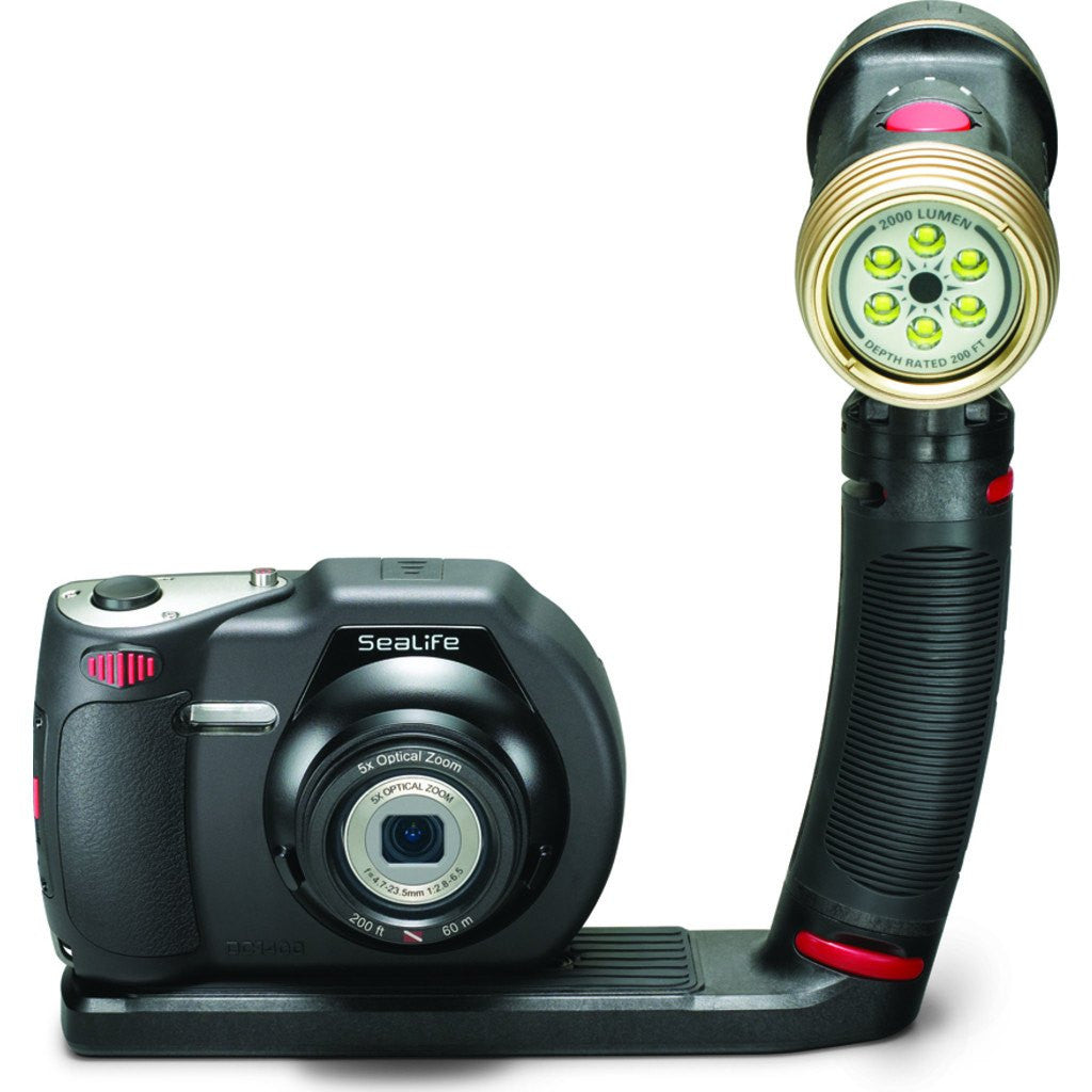SeaLife Sea Dragon 2000 LED Underwater Photo/Video/Dive Light | Black SL984