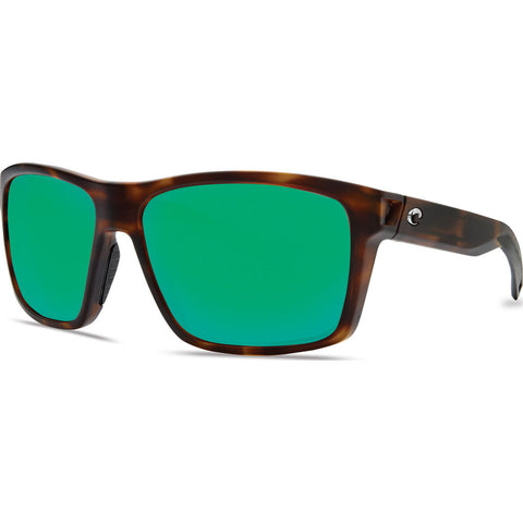 Costa Slack Tide Matte Tortoise Sunglasses | Green Mirror 580P