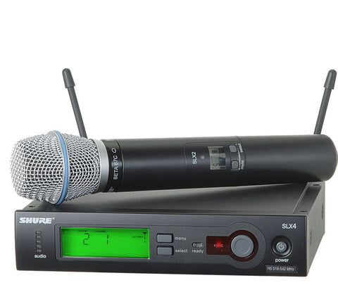 Shure SLX24/BETA87C Handheld Wireless System with BETA87C Microphone