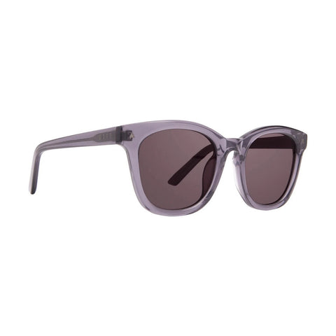 Diff Eyewear Ryder Sunglasses | Transparent Smoke + Grey Solid Lens