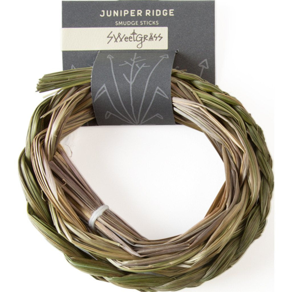 Juniper Ridge Smudge Stick Braid | Sweetgrass SM108