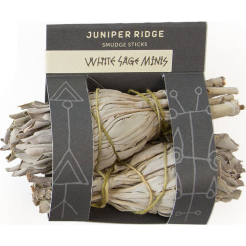 Juniper Ridge Mini Smudge Sticks | White Sage