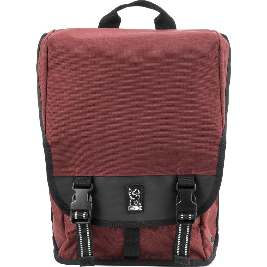 Chrome Soma 2.0 Laptop Messenger Bag | Brick/Black BG-208 BRIK