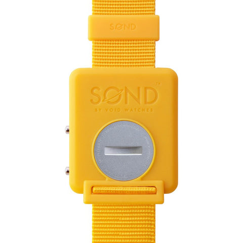 VOID SOND Watch | Yellow SOND-YELLOW