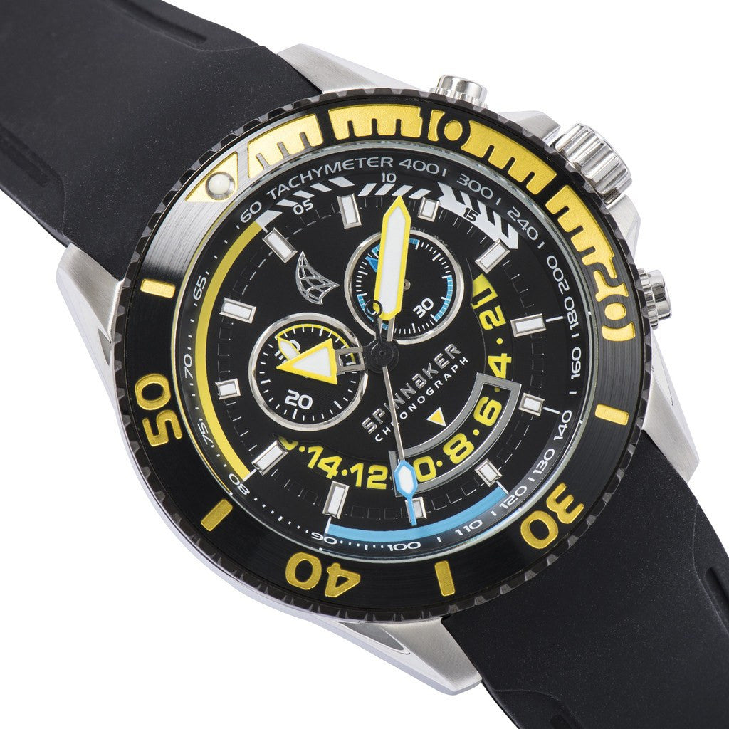 Spinnaker Amalfi Core SP-5021-07 Watch | Black