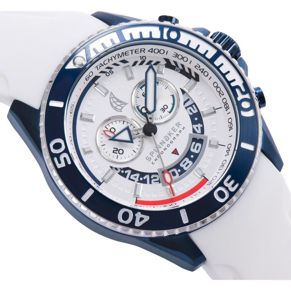 Spinnaker Amalfi Core SP-5021-09 Watch | White