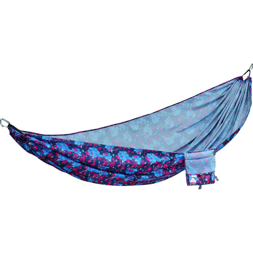 Poler Thermarest Slacker Hammock | Blue Steel Floral 9372-BSF-OS