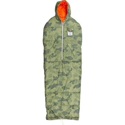Poler Napsack Wearable Sleeping Bag | Furry Camo