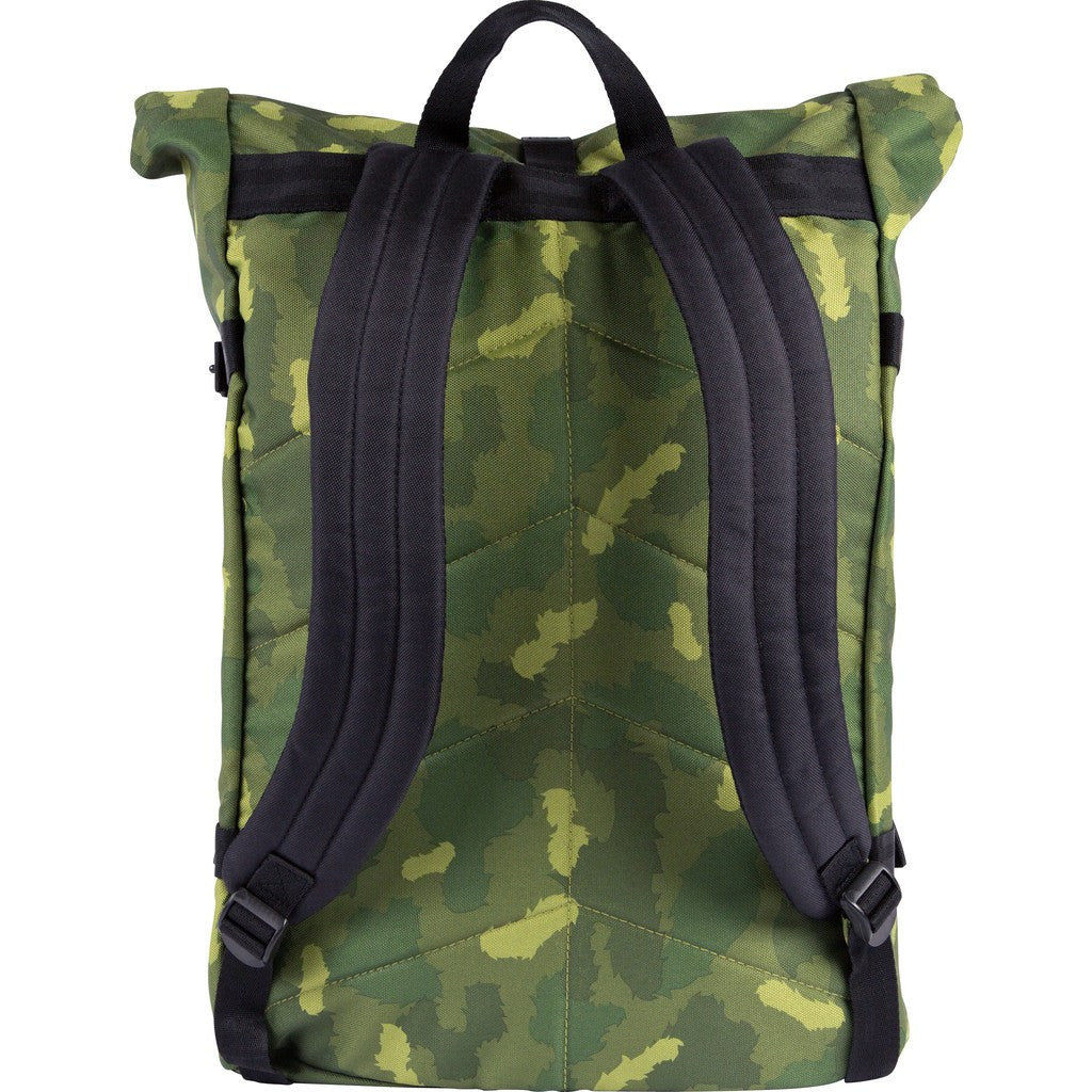 Poler Retro Rolltop Backpack | Green Camo 532021-GCO-OS