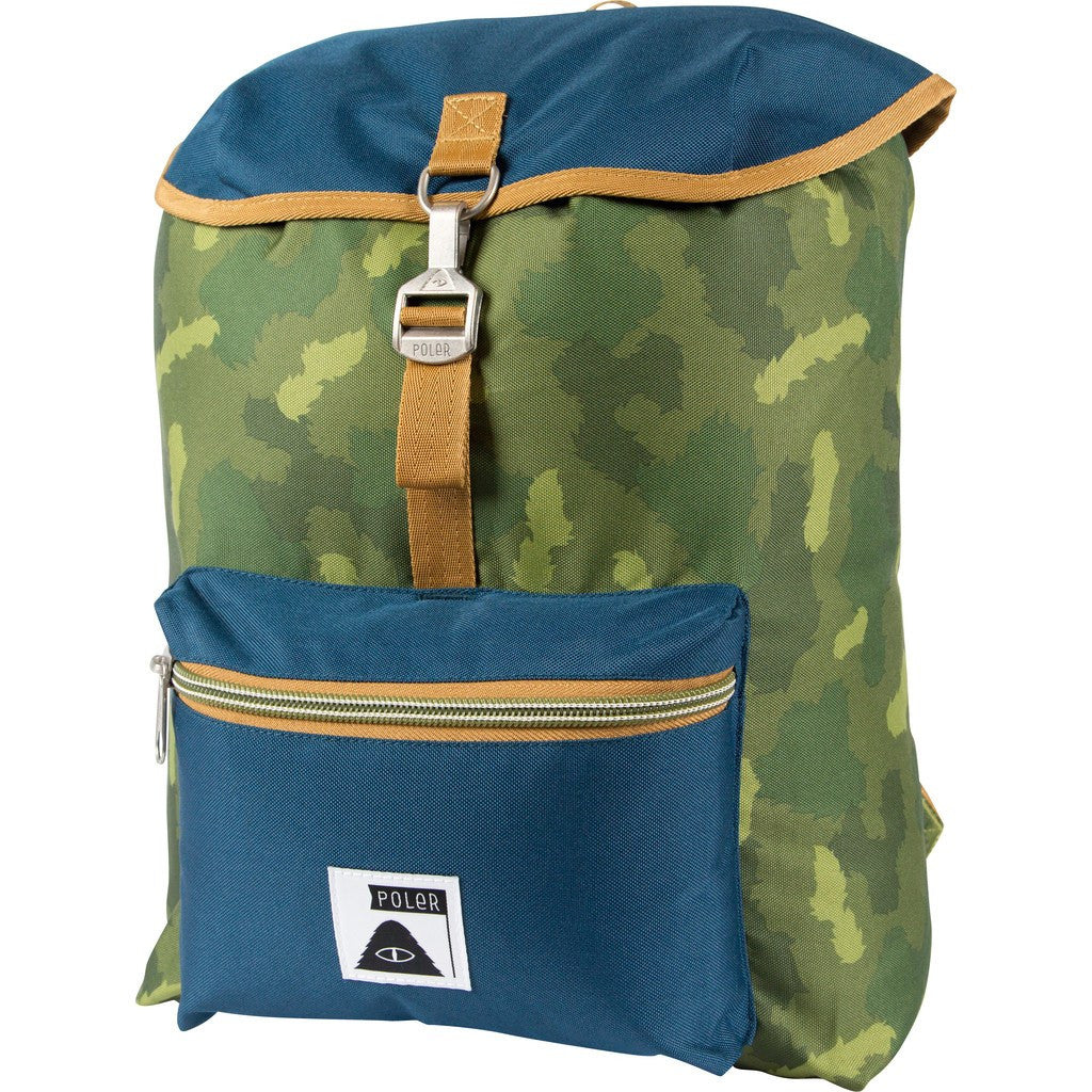 Poler Field Pack Backpack | Green Camo 612015-GCO-OS