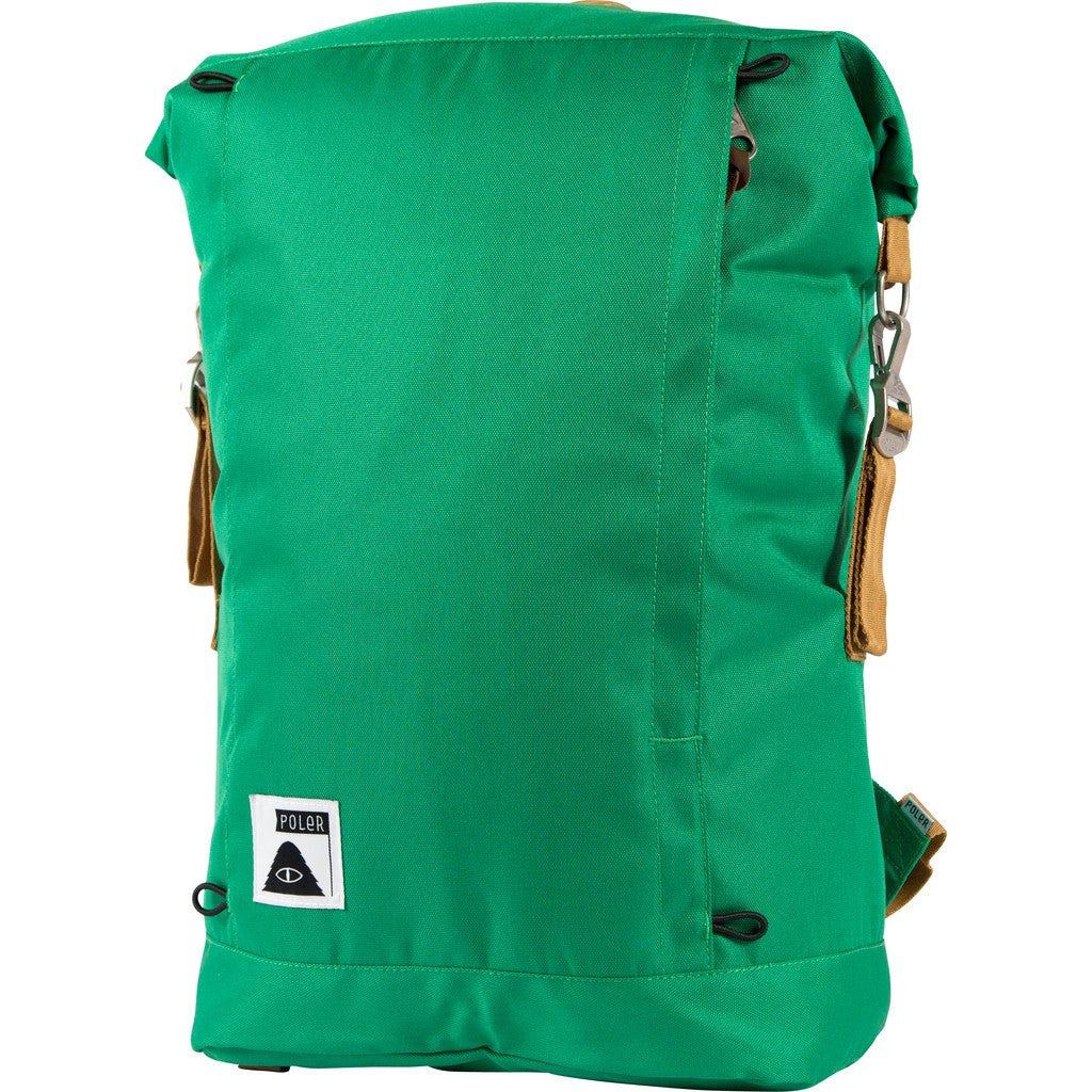 Poler Rolltop Backpack | Bright Green 612018-GRN-OS