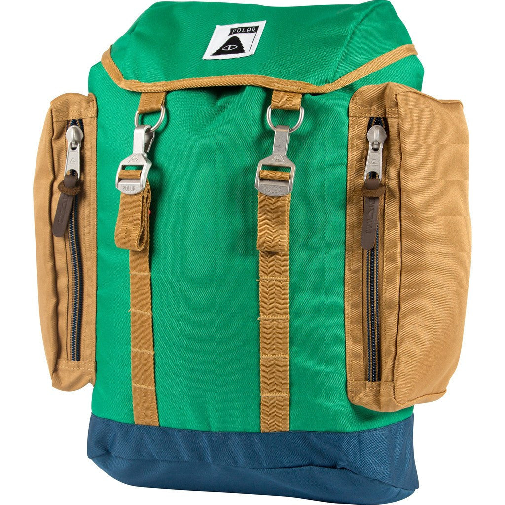 Poler Rucksack Backpack | Bright Green 612019-GRN-OS