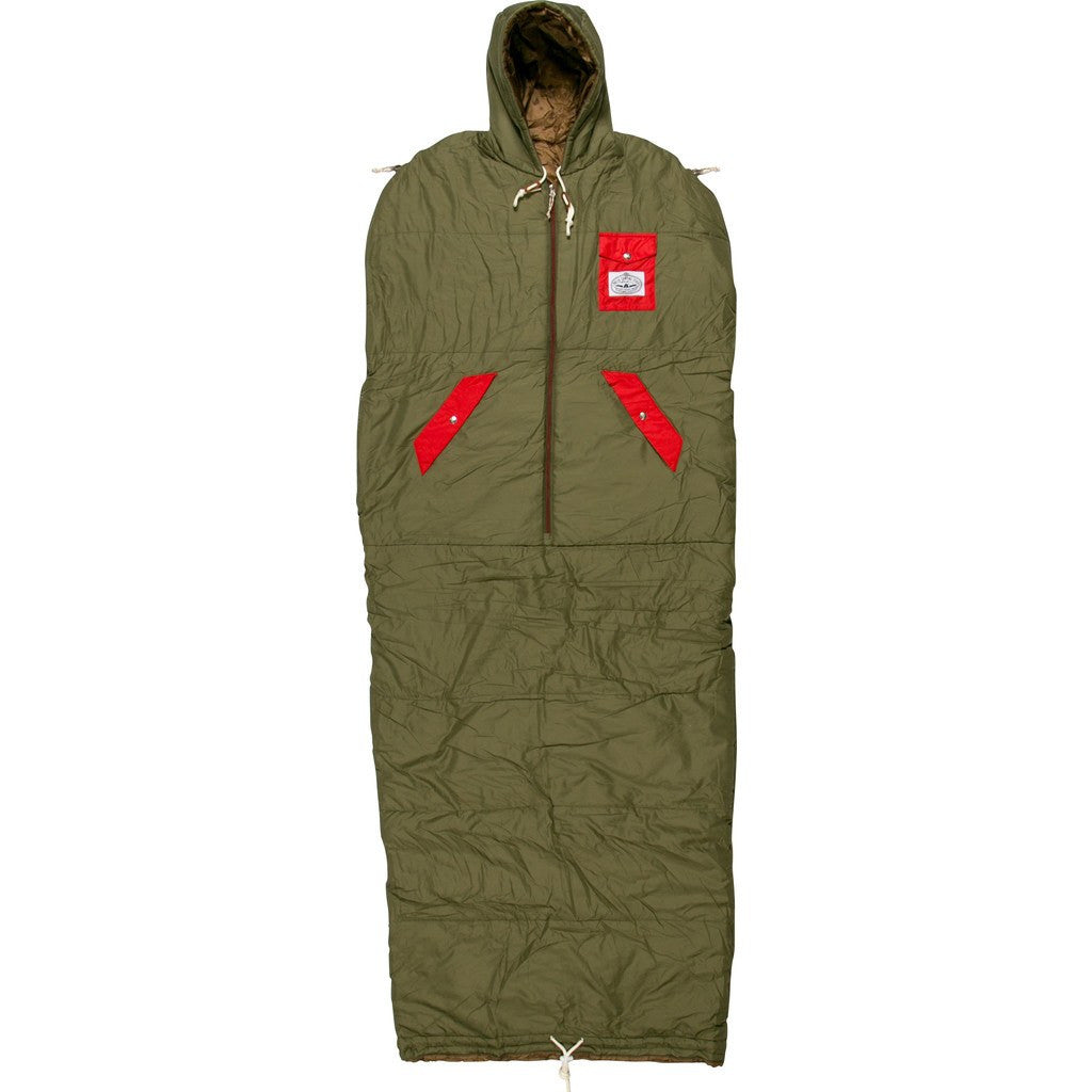 Poler Napsack Wearable Sleeping Bag | Burnt Olive 614017-OLV