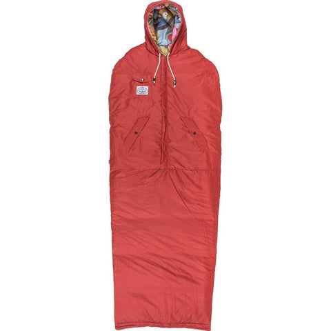 Poler Reversible Napsack Wearable Sleeping Bag | Birdy Print