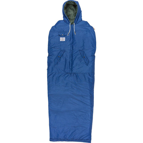 Poler Reversible Napsack Wearable Sleeping Bag | Leaf Green