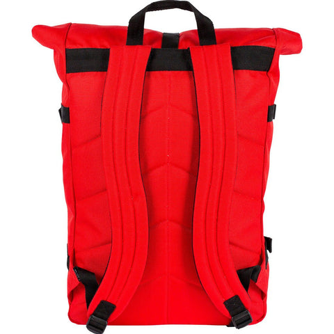 Poler Classic Rolltop Backpack | Bright Red 712001