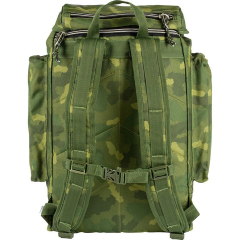 Poler Rucksack Backpack | Green Furry Camo 712019
