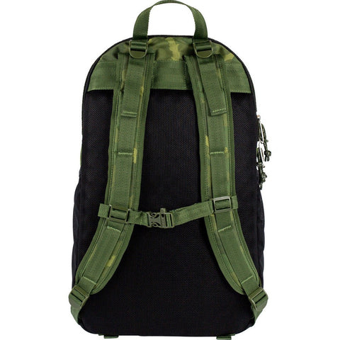 Poler Expedition Pack Backpack | Green Furry Camo 712060