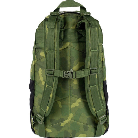 Poler Transport Pack Backpack | Green Furry Camo 712062