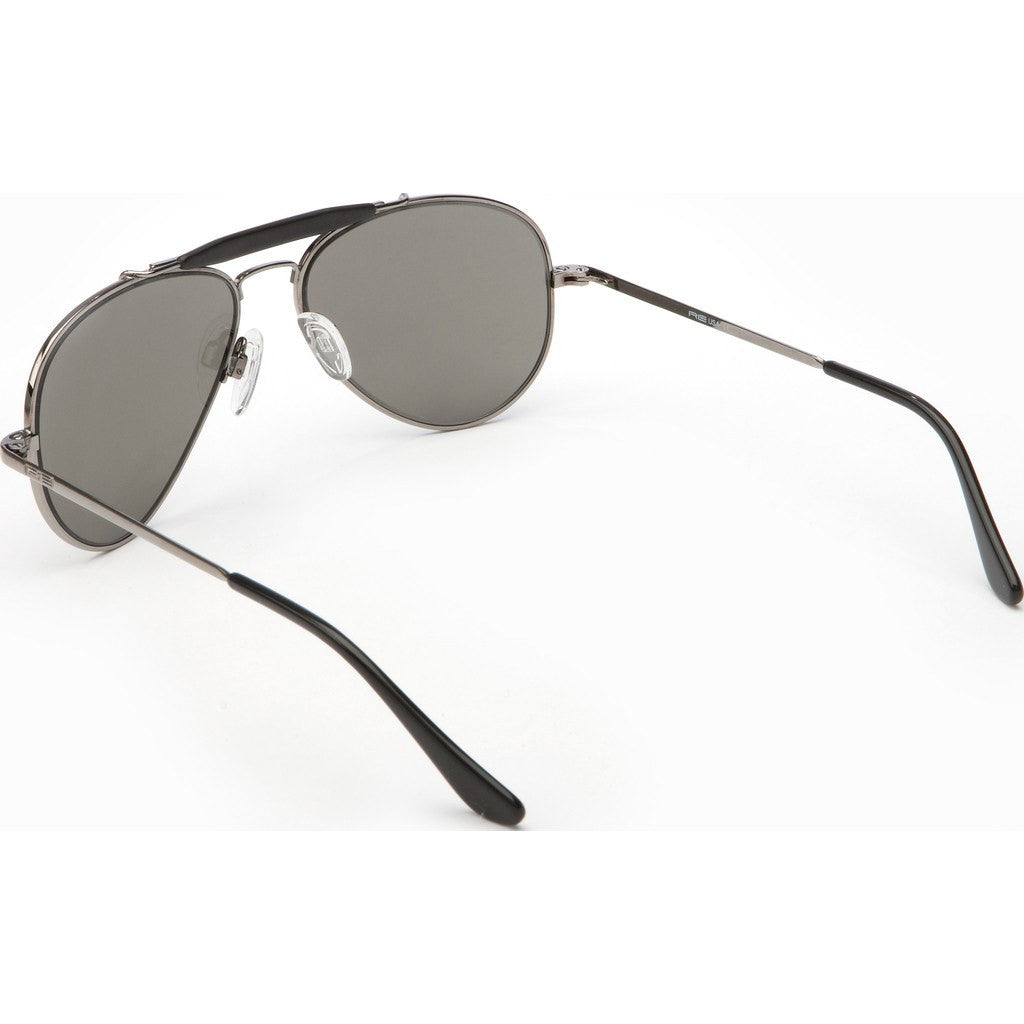 Randolph Engineering Sportsman Gunmetal Sunglasses | Gray PC Skull 57MM SP7R441