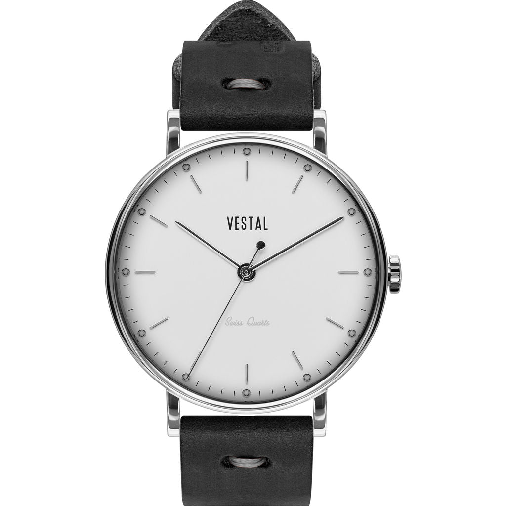 Vestal The Sophisticate Makers Edition Watch | Black-Grey/Silver/White