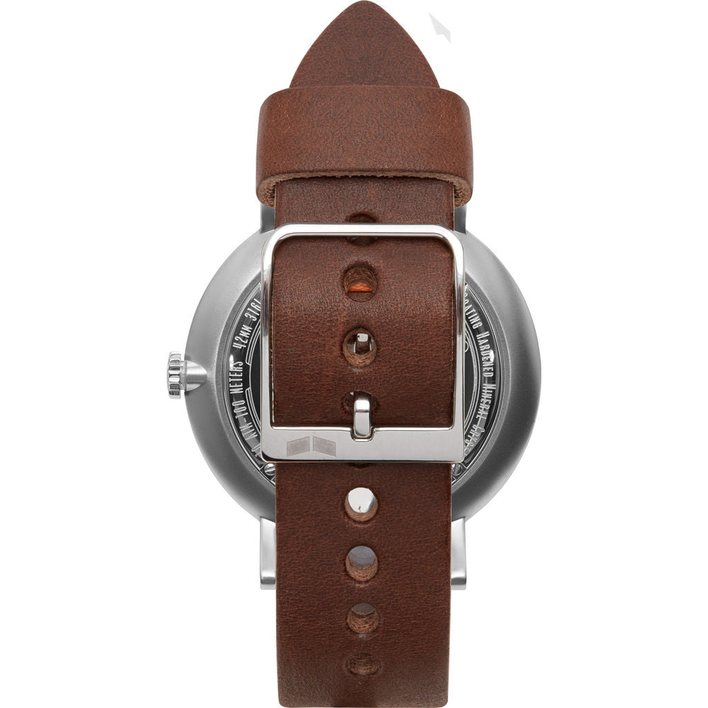 Vestal The Sophisticate Makers Edition Watch | Chocolate/Silver/Black