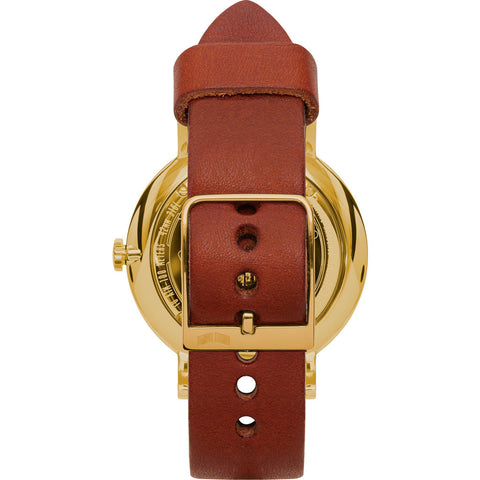 Vestal The Sophisticate Makers Edition Watch | Persimmon-Black/Gold/Black