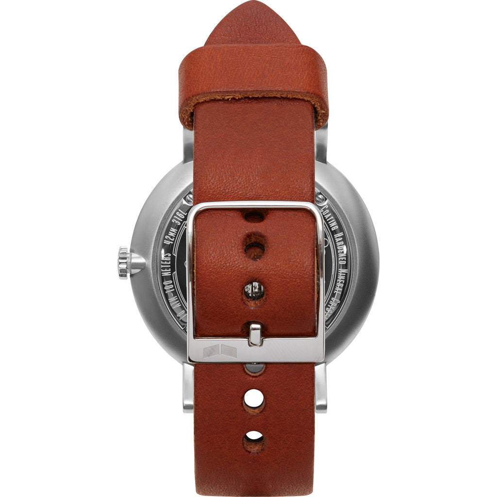 Vestal The Sophisticate Makers Edition Watch | Persimmom-Natural/Metallic Silver/White