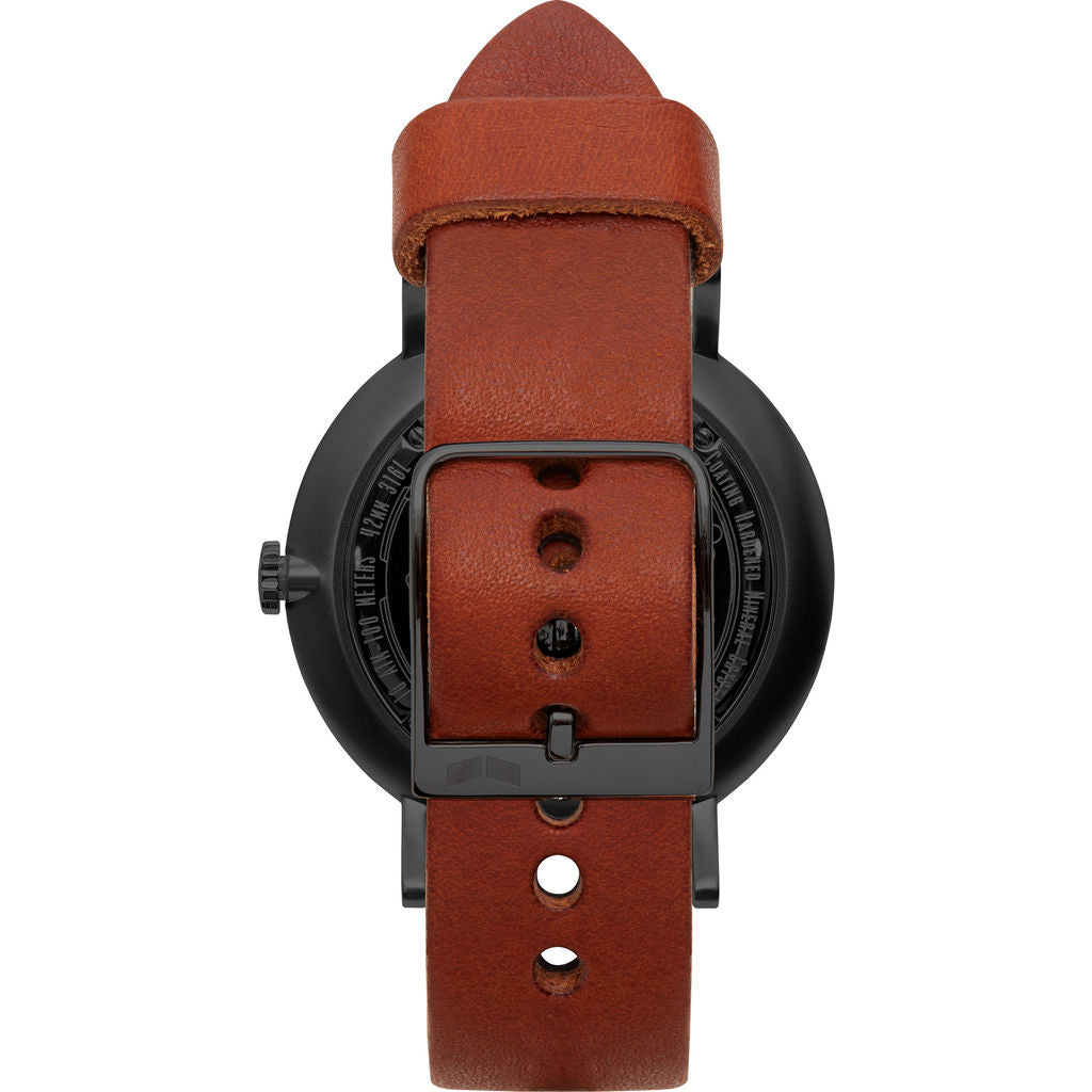 Vestal The Sophisticate Makers Edition Watch | Persimmon-Black/Black/Black