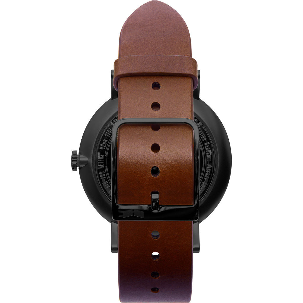 Vestal The Sophisticate Italian Leather Watch | Cordovan/Black