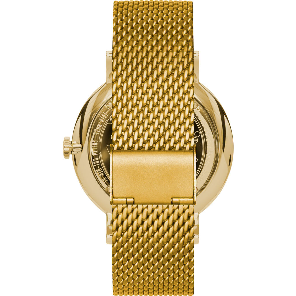 Vestal The Sophisticate Metal Watch | Gold/White/Mesh