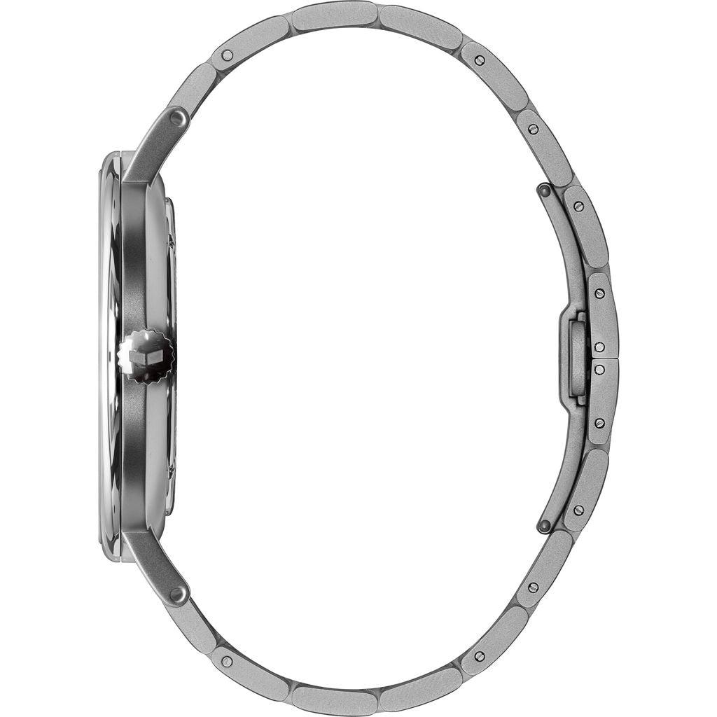 Vestal The Sophisticate 3-Link Metal Watch | Silver/3-Link Metallic White
