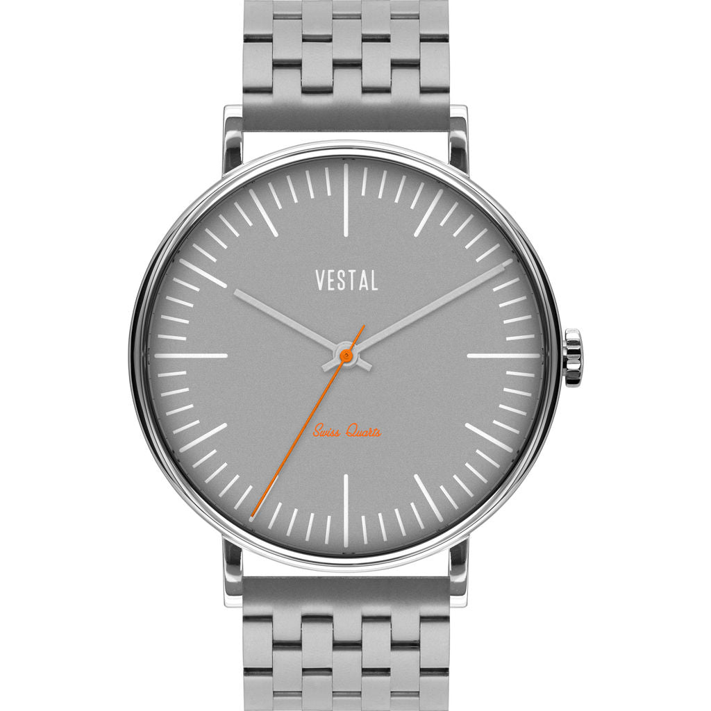 Vestal The Sophisticate 7-Link Watch | Silver/Grey