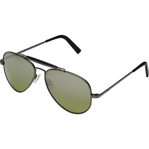Randolph Engineering Sportsman Gun Metal Sunglasses | Jade Metallic Nylon AR Skull 57MM SP7R410-NY