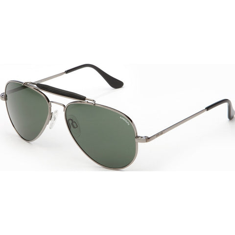 Randolph Engineering Sportsman Gunmetal Sunglasses | AGX Glass Skull 57MM SP7R414