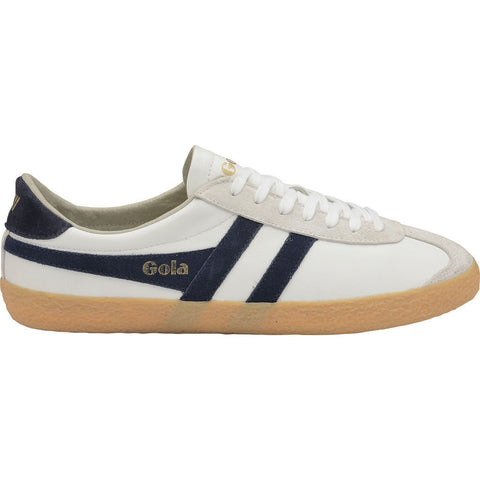 Gola Men's Specialist Leather Sneakers | White/Navy/Gum